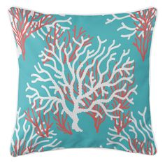 Nassau - Coral Beach Pillow