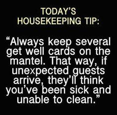 Handy tip...