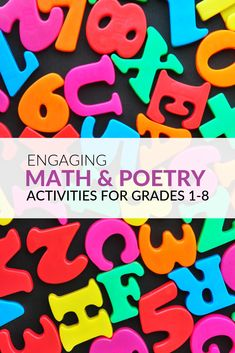 Are you looking for fun math and poetry activities you can use in the classroom? You can have students create poetry in the classroom by using mathematical ideas that are related to the curriculum! Poetry Activities, By Using, Fun Math, Math Resources, Grade 1, Curriculum, Poems, Students, Classroom