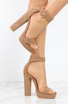 f2a0c078 New Limits - Taupe Zapatillas De Tacón Alto, Zapatos Taco Alto, Diseños De  Zapatos