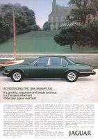 Jaguar XJ6 Sports Car 1984 Ad Picture