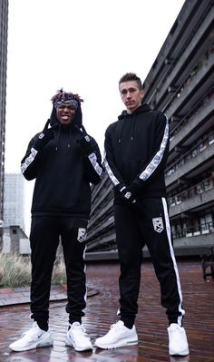 simon and jj repping sidemen clothing