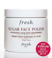 fresh Sugar Face Polish. The mask leaves my skin so soft and refreshed.
