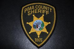 Pima County Sheriff Patch, Arizona (Current Issue)