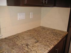 What Are Subway Tiles what color granite goes with white subway tile backsplash | subway