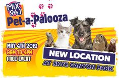 Petapalooza is back -- and this time, it's in a great new location! Join us at Skye Canyon Park W., Las Vegas) on Sat. as we celebrate our love affair with our pets! Indoor Dog Park, Dog Competitions, Canyon Park, Las Vegas Homes, Big Dogs, New Friends, The Rock, Animal Rescue, Things That Bounce