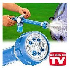 Pistola a Presión de Agua EZ Jet Water Cannon con un dispensador de jabón, lanza de presión para lavado de vehículos, ventanas, paredes, rociado de plantas, etc.