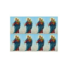 Mary Help of Christians Personalized Prayer Cards  (Priced Per Card)