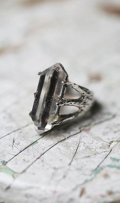 TRIBE Jewelry Crystal Talon Ring