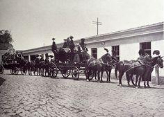 Cortejo fúnebre no Bom Retiro em 1916 (clique na foto para ampliar)