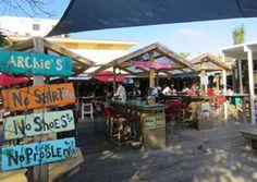 Archie's Seabreeze Bar & Restaurant, Fort Pierce FL on Hutchinson Island Florida