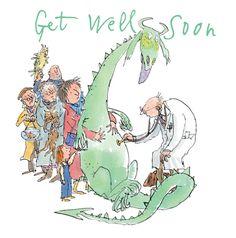 Quentin Blake - Get well soon