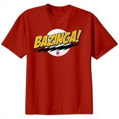 For Connor: The Big Bang Theory 'Bazinga!' T-Shirt