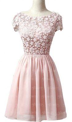 Pink homecoming dress, prom dress