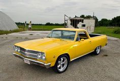 1966 Chevrolet El Camino oh, I have always wanted a