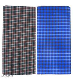 Dhotis, Mundus & Lungis  Finesse Cotton Lungi Material: Cotton Size ( L X W ) : 2.25 Mtr  Description: It Has 2 Pieces Of Lungies  Pattern: Checkered Country of Origin: India Sizes Available: Free Size   Catalog Rating: ★4.1 (1171)  Catalog Name: Urban Finesse Cotton Lungi Vol 14 CatalogID_502574 C66-SC1204 Code: 613-3604958-849