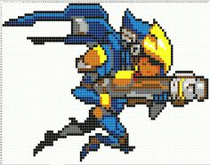 Overwatch Pixel Spray Pattern: Pharah