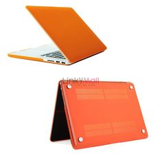 New Good Felling Hard Shell Case Cover For MacBook Pro 15 Orange  $1.99 73.68% off