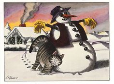 Kliban cat-card by Hflyers, via Flickr