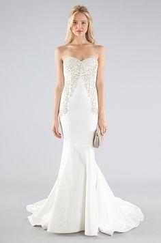 Nicole Miller bridal dress (Fall 2013)