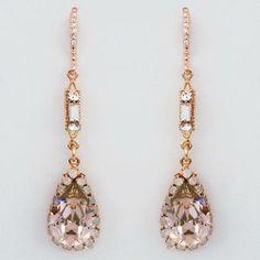 Glam Crystal Earrings