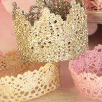 Lace Princess Crowns - DIY