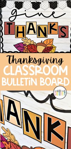 8 Farmhouse Classroom Essentials - Confetti and Creativity Thanksgiving Bulletin Boards, Christmas Bulletin Boards, Reading Bulletin Boards, Winter Bulletin Boards, Preschool Bulletin Boards, Fall Classroom Decorations, Student Binders, Library Book Displays, Elementary Library