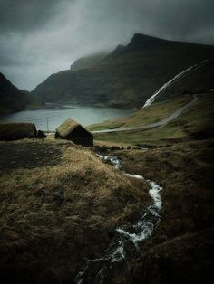 The farm at Saksun, Streymoy, Faroe Islands - 2014 - Archival pigment print. Beautiful Islands, Beautiful World, Beautiful Places, Kingdom Of Denmark, All Nature, Faroe Islands, Beautiful Landscapes, Wonders Of The World, Places To See