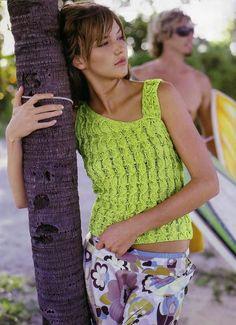 Bergère de France № 130 Summer Crochet Magazine - Renee - Lei Yu Xuan