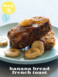 Banana Bread French Toast | Via: Spoon Fork Bacon