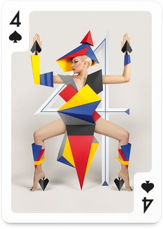 4-spades -- Totally not my style, but! Look at this! It is fabulous. Not even tarot. Luscious! And such a perfect four... LTM