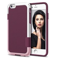 """New Wine iPhone 6/6s Case 100% Brand New and High Quality! Material: PC+TPU Perfect fit to your phone Protect Your Mobile Phone From Scratches, Dirt, Impact and Shock Fashion Design, Easy to Put on And Easy to Take Off Compatible with: Perfect Fit For iPhone 6/6s 4.7"""" No trades please  Accessories Phone Cases"""