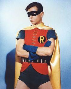 "Burt Ward as Robin The Boy Wonder in ""Batman"""