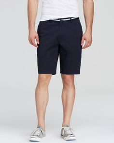 Boss Hugo Boss Clyde1-15-w Stretch Gabardine Shorts