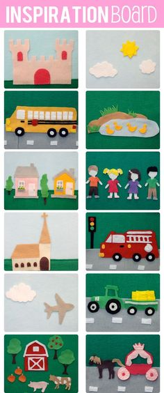 The Busy Budgeting Mama: DIY Felt Board- Tutorial & Inspiration Photos Felt Board Stories, Felt Stories, Craft Activities For Kids, Toddler Activities, Sequencing Activities, Felt Diy, Felt Crafts, Diy For Kids, Crafts For Kids