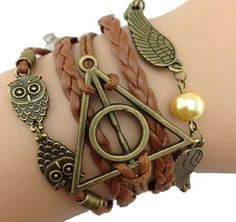 Harry Potter Deathly Hollows Bracelet