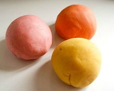 Done: Our Favorite Homemade Play Dough Recipe~ I really liked this play dough.  Easy, fun to make, and great consistency