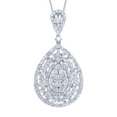Uniquepedia.com - 2.63ct 18k White Gold Diamond Pendant Necklace, $3,354.00 (http://www.uniquepedia.com/2-63ct-18k-white-gold-diamond-pendant-necklace/)