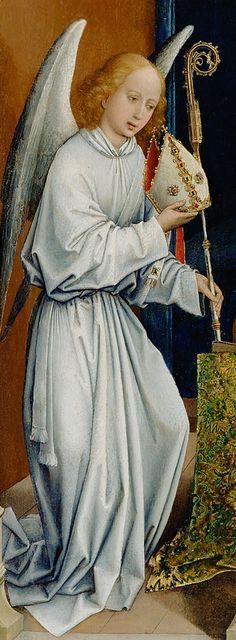 The Dream of Pope Sergius (detail), attributed to Rogier van der Weyden, late 1430s