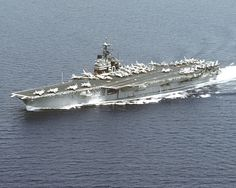 File:USS Saratoga (CV-60) underway port side aerial.jpg - Wikipedia, the free encyclopedia