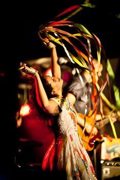 Arcade fire - Régine Chassagne