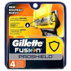Gillette Fusion ProShield Men's Razor Blade Refills - 4 ct