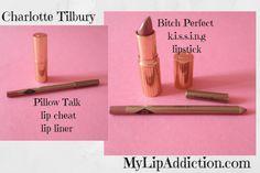 My Favourite Nudes (fornow) http://mylipaddiction.com/2015/08/18/pillow-talk-bitch-perfect-charlotte-tilbury/…