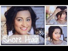 Fast Heatless Hair Styles For Short Hair