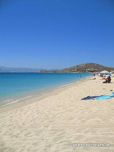 Agios Prokopios beach ~ Naxos My beach. Naxos Greece, Santorini Greece, Paros, Beautiful Islands, Beautiful Places, Places In Greece, Greece Islands, Greece Travel, Athens