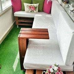 47 The Basic Facts of Small Balcony Decor Apartments Seating Areas Small Patio Furniture, Furniture Layout, Outdoor Furniture Sets, Outdoor Decor, Furniture Ideas, Small Balcony Decor, Balcony Ideas, Apartment Balconies, Small Apartments