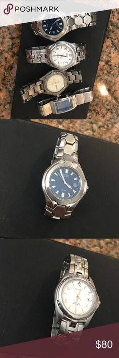 Two Citizen watches, One sieko, One Wired watch All used, Minor scratches, Good Condition Citizen Accessories Watches