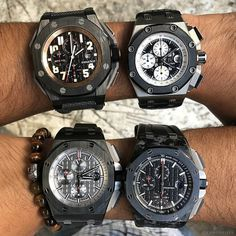 4 Horsemen Which one would you wear? Follow us if love watches Try our free app see bio