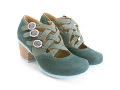 Whether you are looking for casual shoes or vintage high heels, Fluevog women's shoes are more than a fashion statement. Shop now! Shoes Uk, Sock Shoes, New Shoes, Vintage High Heels, Vintage Inspired Shoes, John Fluevog Shoes, Wrap Heels, Unique Shoes, Shoe Brands