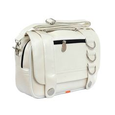 Clicker Shoulder Bag Ivory, $55, now featured on Fab.